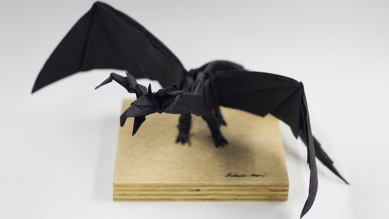 How make origami 3-Heads Dragon | How To Make Origami Dragon | 450x800